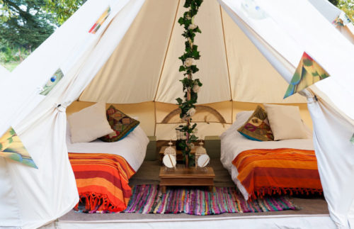 Zoo Bell tent for Camp Cardiff gallery