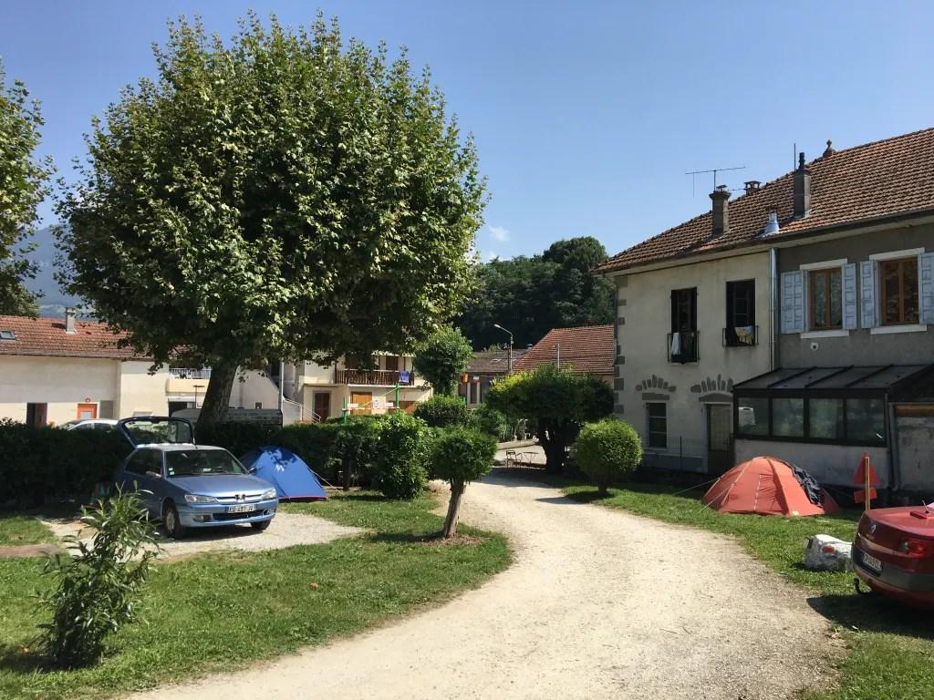 Camping Le Pêcheur à Aix les Bains - Garibaldi