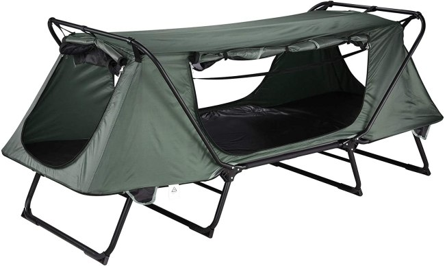 best tent cots for camping