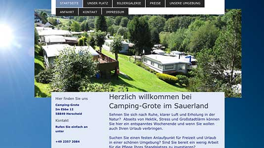 Camping-Grote