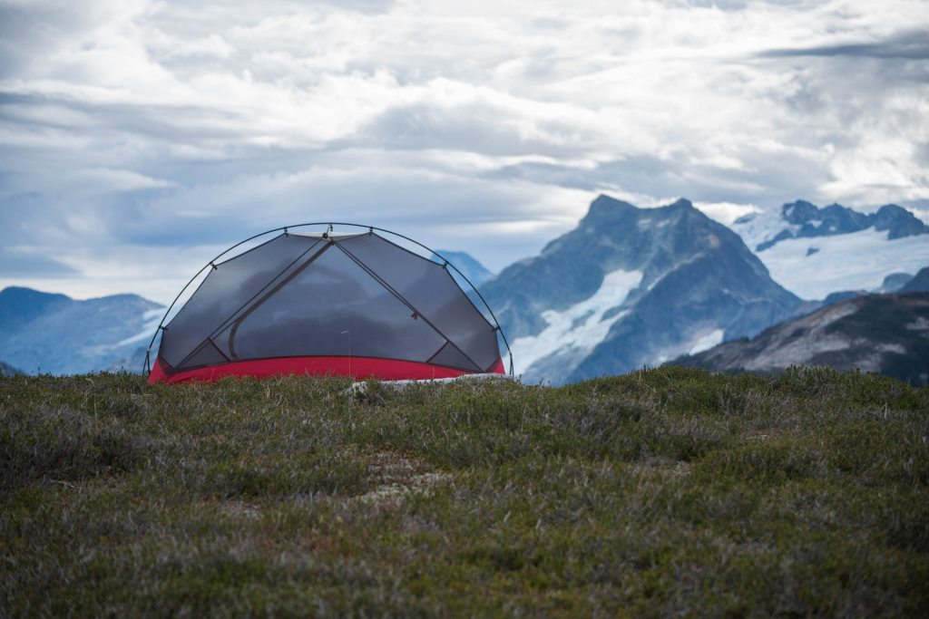 Know when to set up your tent