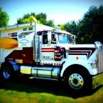 Semi Truck Camper Camp In Style