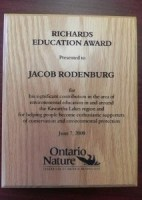Richards Education Award 2008