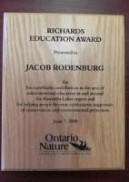 Richards Education Award 2008