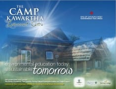 Program Brochure for the Camp Kawartha Environment Centre