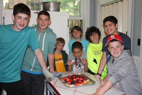 Fruit Pizza and Lemon Bars June 25, 2015 0025