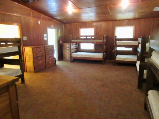 Camp Oak Hill Legacy Cabin Interior 2