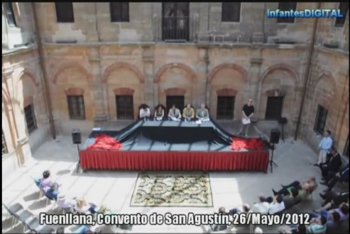 Fuenllana, Convento de San Agustín, 26 de Mayo de 2012