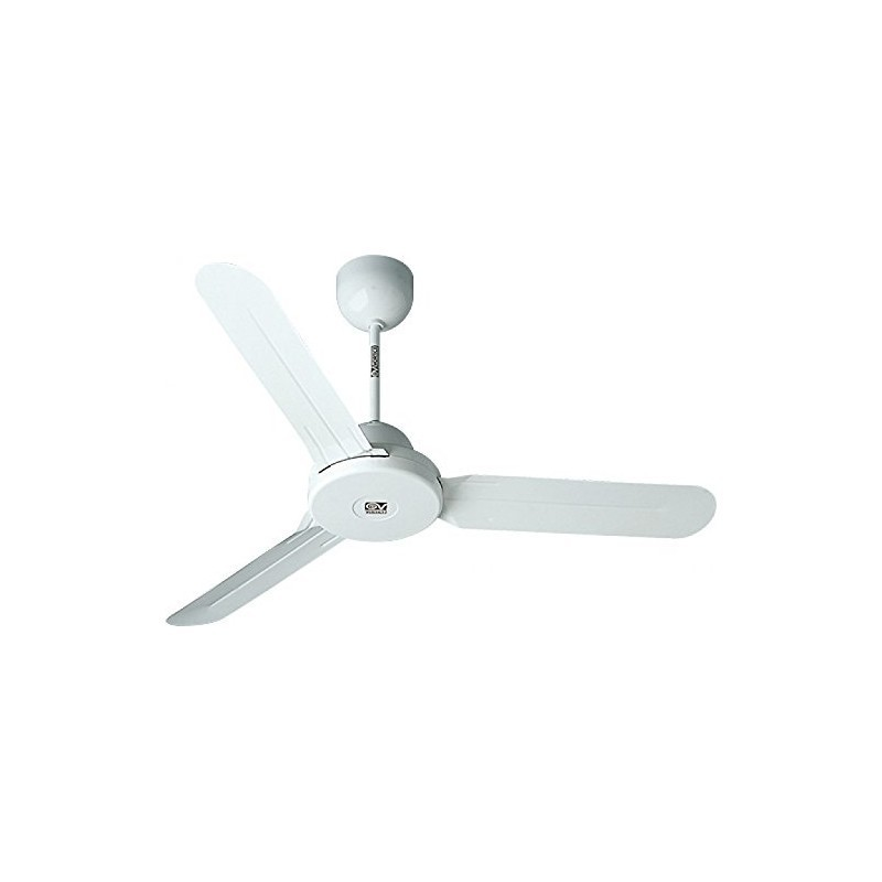 Vortice nordik evolution r 120/48 ventilatore da soffitto con 3 pale diametro. Ventilatore Da Soffitto A Pale Senza Luce Nordik 1s 120 48 70w Vortice