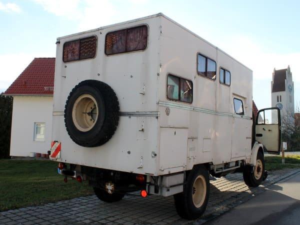 Mercedes Rundhauber Wohnmobil