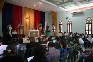 Missa Presidida pelo Revmo Pe. Paulo Roberto