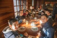 Café da manhã na hospedagem em Gramado -RS
