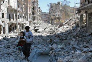Cidade de Aleppo, na Síria – Foto: Associated Press