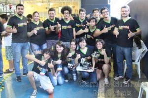 Campus Campo Grande também participou da competição – Foto: Campus Campo Grande/Divulgação
