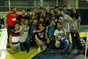 Equipes de Jardim e Ponta Porã venceram a Olimpíada – Foto: Campus Ponta Porã/Divulgação