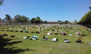 Cemitério em Campo Grande (MS) - Foto: Álvaro Barbosa