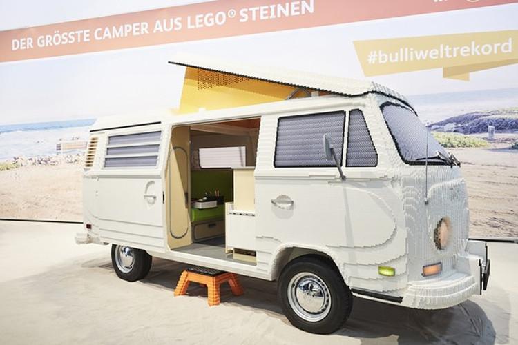 Volkswagen Kombi de LEGO (Foto: Reprodução/internet)