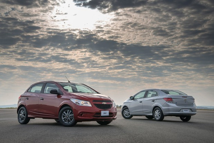 Chevrolet Onix e Prisma Joy seguem em linha (Foto: Divulgação)