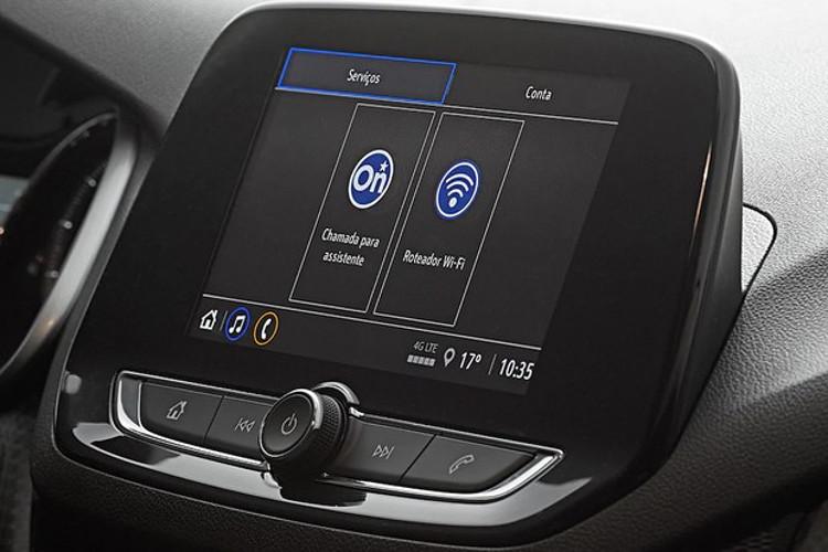 Compactos trazem a nova geração da multimídia MyLink (Foto: Divulgação)
