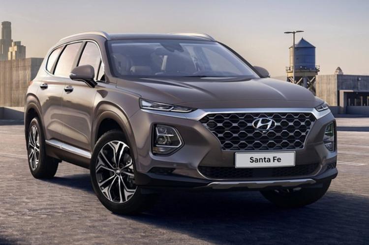 Hyundai Santa Fe tem visual alinhado a nova identidade da marca (Foto: Divulgação)