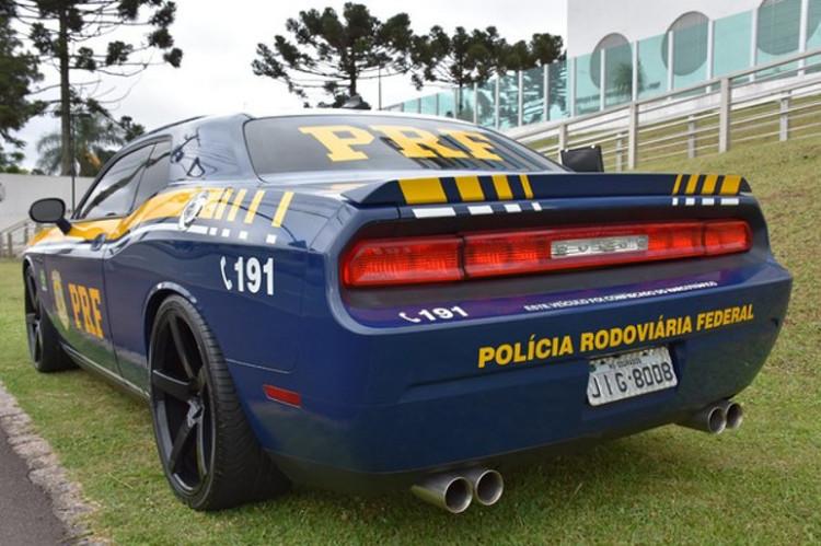 Polícia rodoviária do Paraná irá usar Dodge Challenger (Foto: Divulgação)