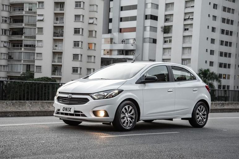 Chevrolet Onix é o carro mais vendido do Brasil desde 2015 (Foto: Divulgação)