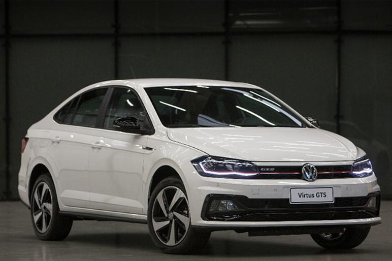 VW Virtus GTS estreia co motor 1.4 turbo de 150 cv (Foto: Divulgação)