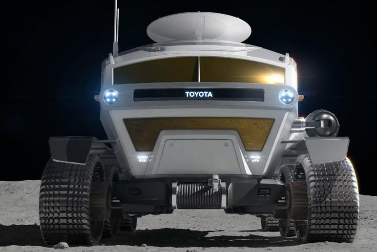 O Jipe desenvolvido pela Toyota transportará astronautas da NASA em 2024 (Foto: Divulgação)