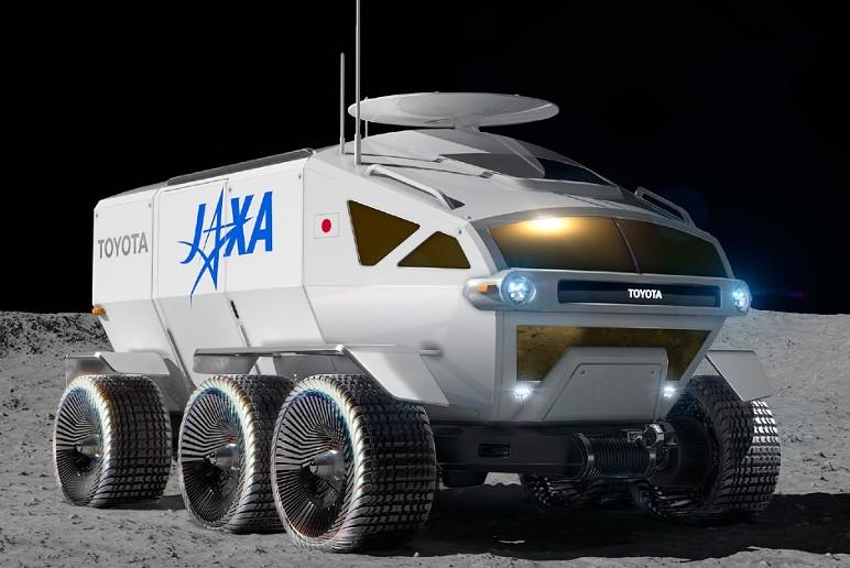 Jipe Lunar desenvolvido pela Toyota (Foto: Divulgação)