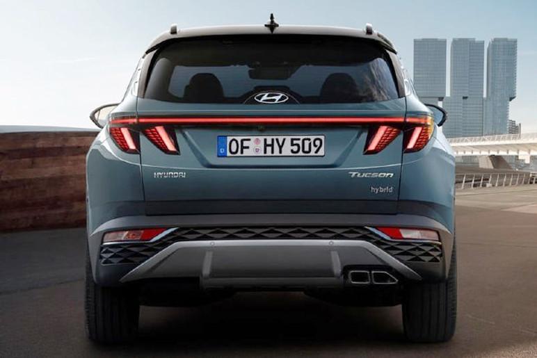 Hyundai Tucson 2021 Traseira (Foto: Divulgação)