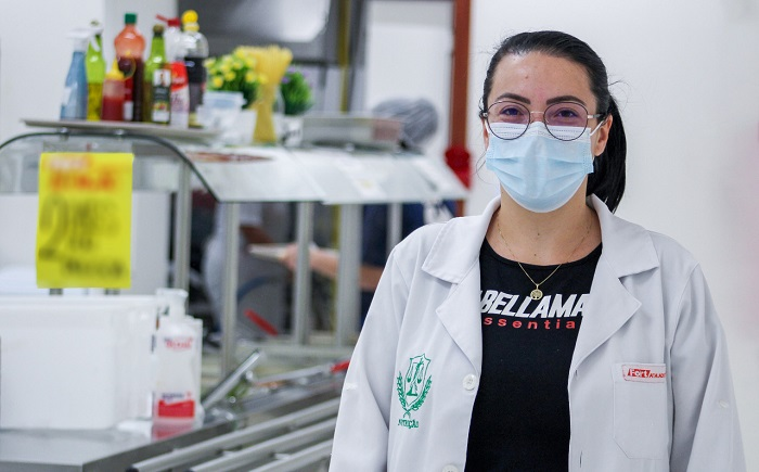 Letícia Tizziani, nutricionista do Fort Atacadista – Foto: Divulgação