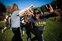 Wild fun at Nov camp