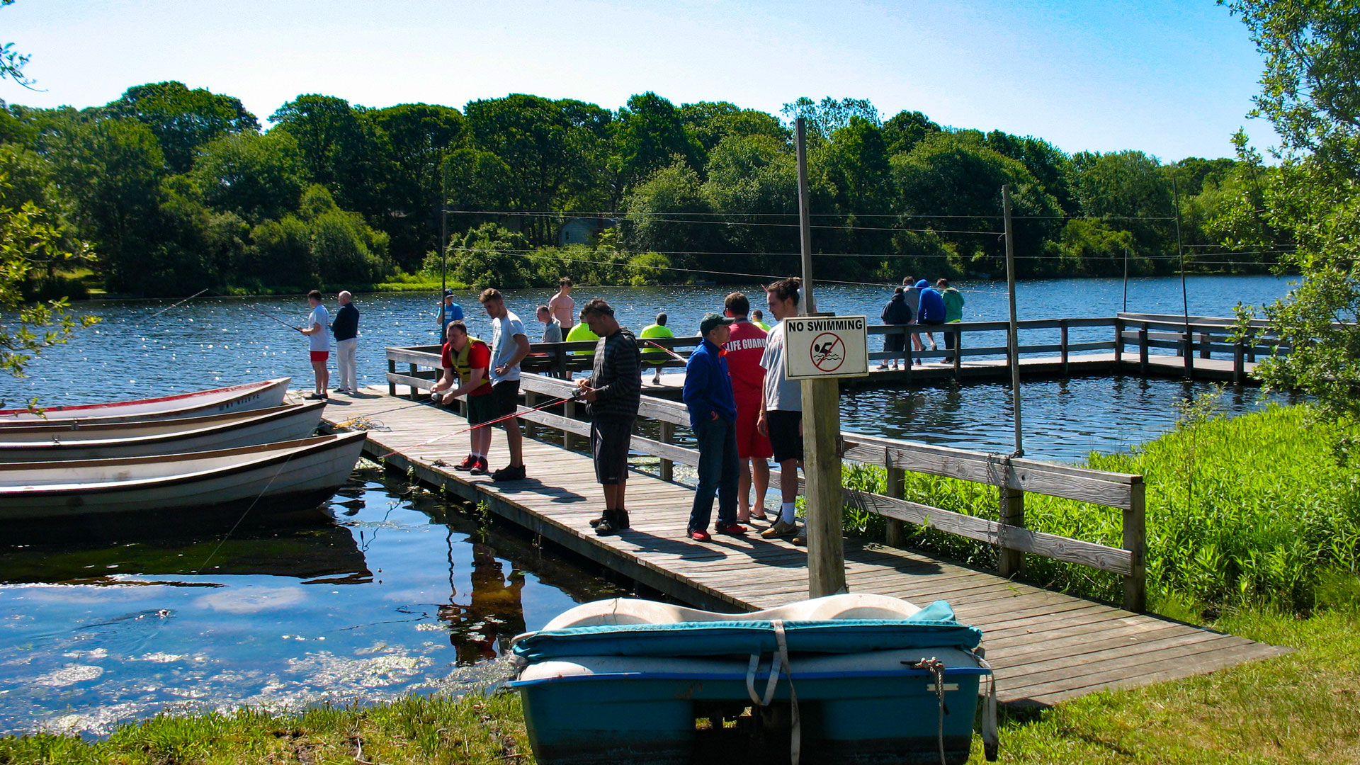 Camp Pa-Qua-Tuck fishing