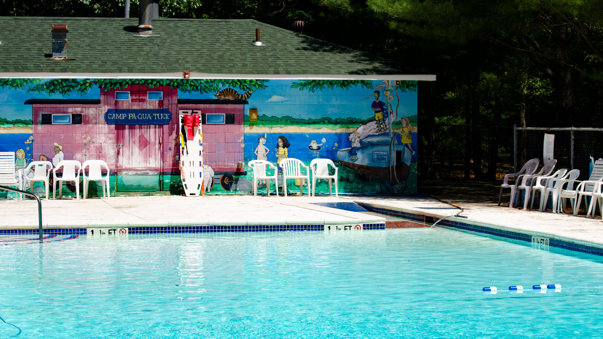 Camp Pa-Qua-Tuck pool