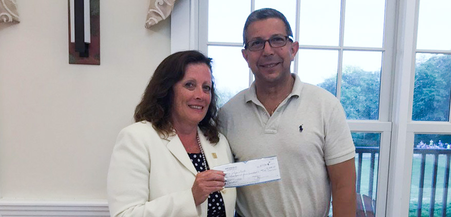 Marie Macalary Club Donation