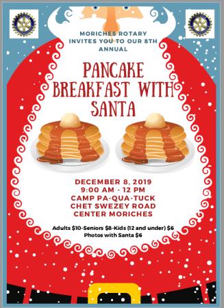 Breakfast with Santa info