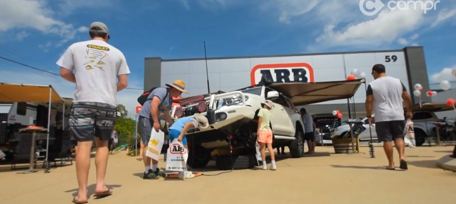 arb 4x4 accessories cairns open day