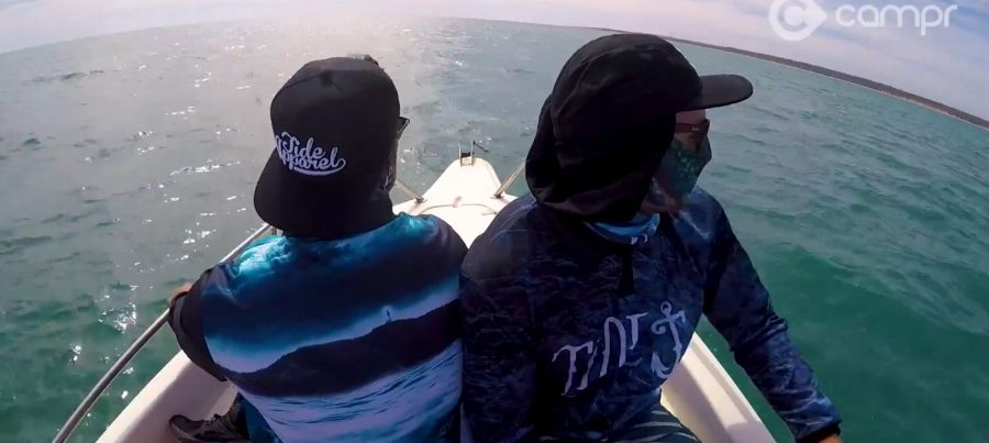 Weipa fishing with Jack Reed & Jharah Yow Yeh