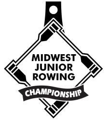 midwest juinor rowing championship logo