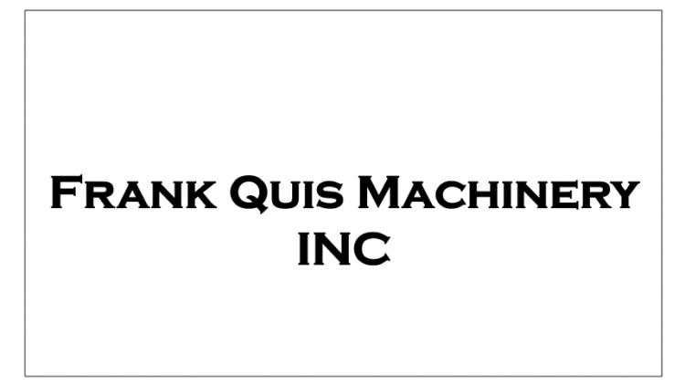 frank-quis-machinery