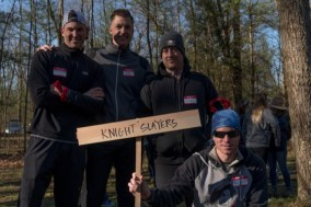 Knight Slayers, the top fundraising team!