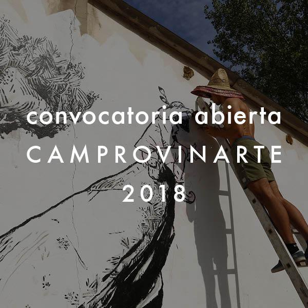 Convocatoria Camprovinarte 2018