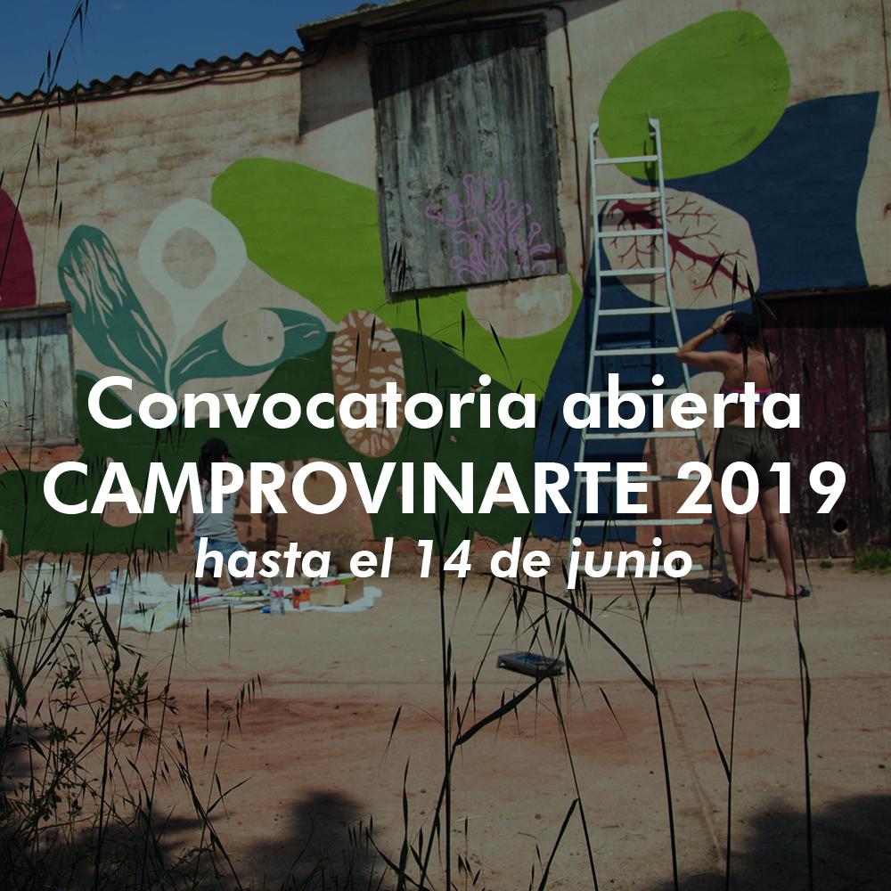 Convocatoria abierta CAMPROVINARTE 2019