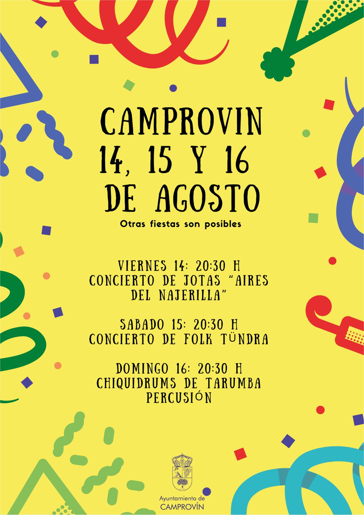 Fiestas de Camprovín