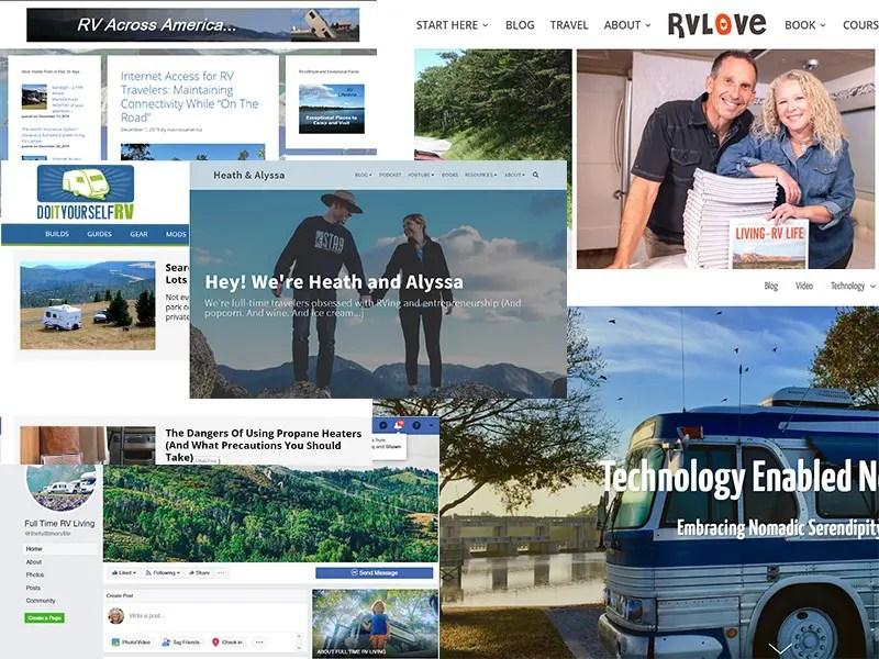 RV blogs we follow