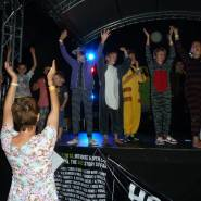 campsoul juniors dancing on stage