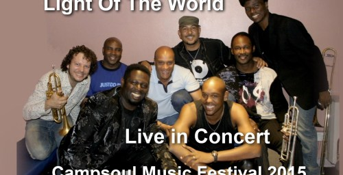 Light of the world live at campsoul 2015