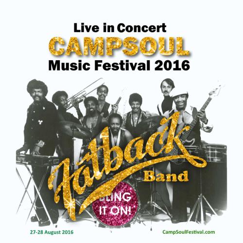 Fatback band live UK Concert Campsoul 2016