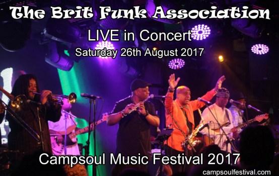 The Brit Funk Association Live UK Concert 2017