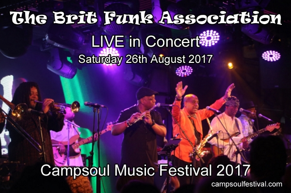 The Brit Funk Association live UK Concert Campsoul 2017